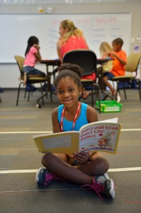 Horizons encourages young students to continue their learning during the summer.